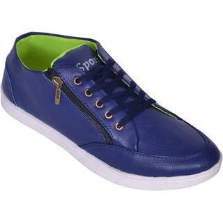 Sukun Blue Casual Shoes For Men (SRT201BLU)