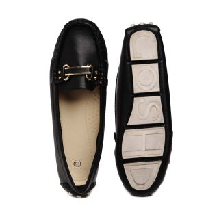 Bruno Manetti Black Casual Shoes (3075-157-Black)