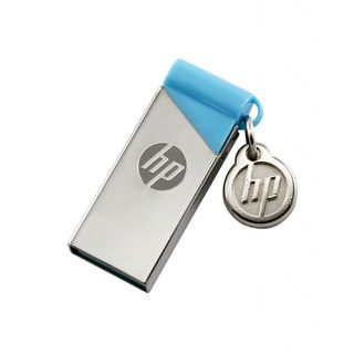 HP V215b 16 GB  Pen Drive (Silver, Blue)