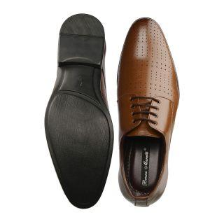 Bruno Manetti Tan Formal Shoes (5613-Tan)