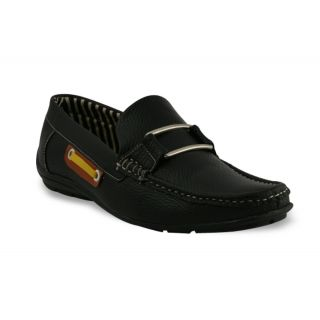 Bacca Bucci MenS  Black Casual Loafer Shoes (BBMC4016A)