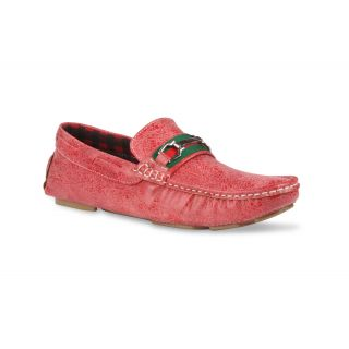 Bacca Bucci MenS  Red Casual Loafer Shoes (BBMC4003J)