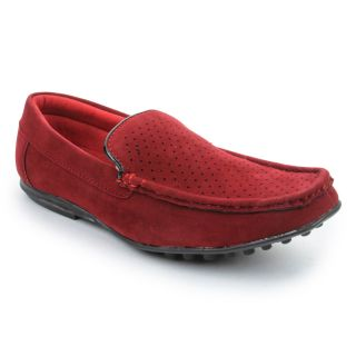 Bacca Bucci MenS  Red Casual Loafer Shoes (BBMC4025J)