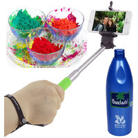 Holi Hamper Combo Pack Of Gulal , Coconut Oil And Selfie