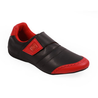 Stylos Mens Red Black Casual Shoes - 88606821