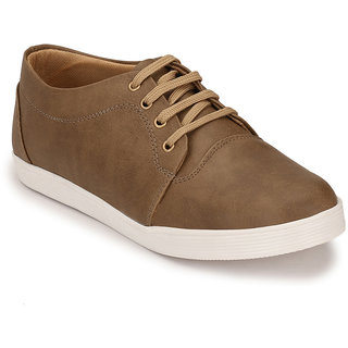Peddeler Mens Beige Casual Shoes