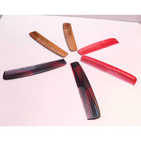 Brand New 3 Different Colours 6 Pieces Combo Pack Imported Hair Combs For Unisex