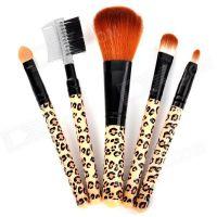 Mini Make-up Brushes  (set Of 5)