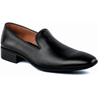 De Scalzo Mens  Black Formal Shoes - 88682582
