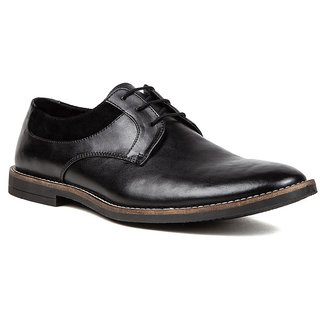 De Scalzo Mens  Black Formal Shoes - 88682564