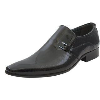 Michelangelo By Lords Mens Fancy Shoe With A Glossy Finish.2431 BLACK