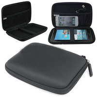 Portable Hard Disk Protective Hard Cushion Cover / Pouch - Black