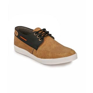 Peddeler Mens Tan Casual Shoes