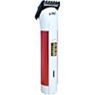 Brite 490 Rechargeable Trimmer For Men (White & Red)