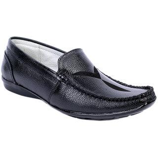 Sole Strings Mens Black Casual Shoes (ASHK-190330BM00)