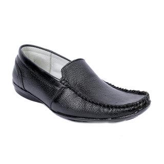 Sole Strings Mens Black Casual Shoes (ASHK-190340BM00)