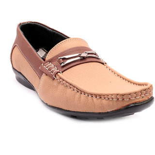 Sole Strings Mens Tan Casual Shoes (ASHK-19040TAM00)