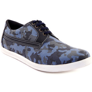 Sole Strings Mens Blue Casual Shoes (SOLSARM030BLM00)
