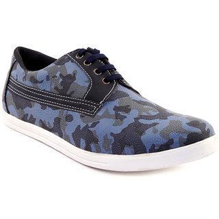 Sole Strings Mens Blue Casual Shoes (SOLSARM030BLM00)