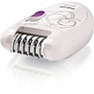 Philips Advanced Hair Removal Women Hp 6420/00 Epilator (White)