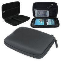 Portable Hard Disk Protective Hard Cushion Cover / Pouch - Black - 89038409