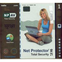 Anti Virus Net Protector Total Security 2016 1 PC 1 Year