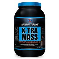 British Nutritions X-Tra Mass - 500 G  Vanila