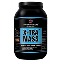 British Nutritions X-Tra Mass - 1 Kg  Chocolate