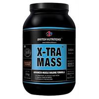British Nutritions X-Tra Mass - 1 Kg Vanila