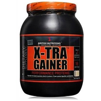 British Nutritions X-Tra Gainer - 500 G  Chocolate