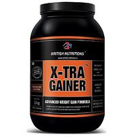British Nutritions X-Tra Gainer - 1 Kg - Vanilla