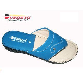 Women's Blue Slip On Flat