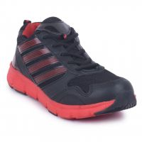 Fuel Men Flyer Black Red Sports Shoes