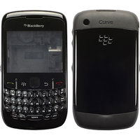 Blackberry 8520 Curve Housing Faceplate Cover Case Body - Black