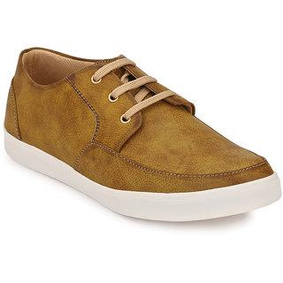 Peddeler Mens Baige Casual Shoes