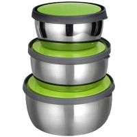 Stainless Steel Bowl Set (Set Of 3) - 89381709