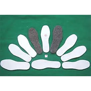 Shoe Insole 2 Pic Black  2 Pic White