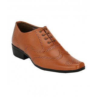 Sole Legacy Mens Tan Brogue Shoes