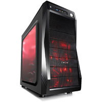 Circle Gaming Cabinet CC 821 Without SMPS (with 3 LED FAN)