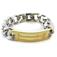 Men's Jewellery Designer Stylish New Stainless Steel Chain Bracelet GBS005