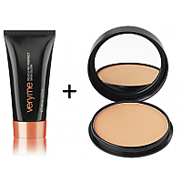 Very Me Peach Me Skin Glow (Dark)+Pure Colour Perfect Powder(Dark)