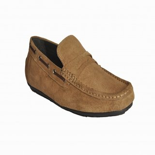 Loafers Club Casual Shoes For Men Beige