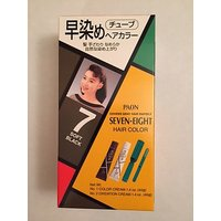 PAON SEVEN-EIGHT PERMANENT HAIR COLOR #7 NATURAL BLACK