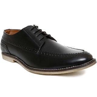 Romanfox Men Black Casual Shoes (100019)