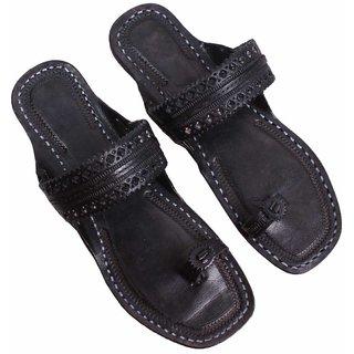 Sushito Designer Pure Leather Kolhapuri Paitaan For Women JSMKCF0078