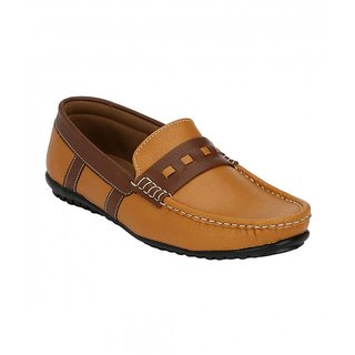 Sole Legacy Men Tan Casual Loafers
