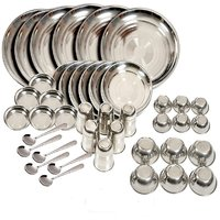 42 Pcs Dinner Set With A Set Of 5 Knives  1 Pair Of Chopping Board