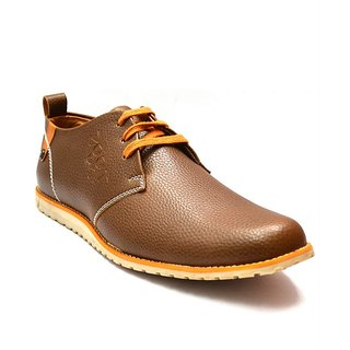 Zoot24 Men Brown Casual Shoes (8181WOLG-BEIGE)