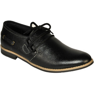TS Men Black Casual Shoes (TS1047BK)