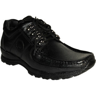 TS Men Black Casual Shoes (TS1075BK)